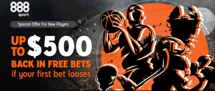 888sport Risk-Free Bet New Jersey