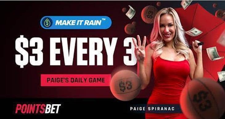 PointsBet Paige Spiranac