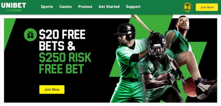 Unibet NJ free bet offer