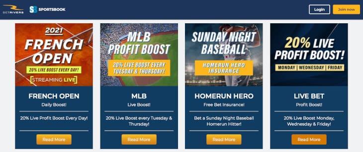 BetRivers sportsbook promotions