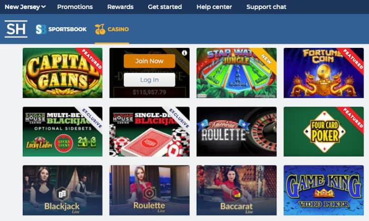 SugarHouse casino review NJ