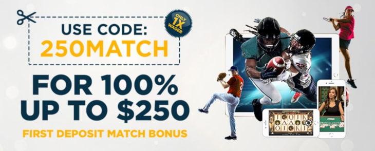 SugarHouse sportsbook bonus in NJ
