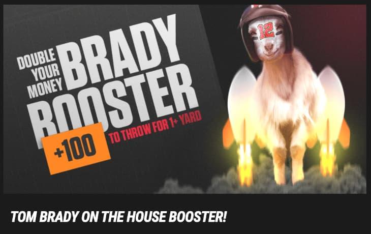Tom Brady boosted odds